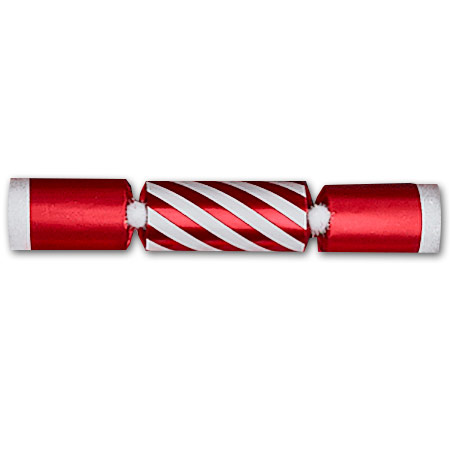 Christmas Crackers.Candy Stripe Christmas Crackers