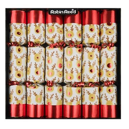 Racing Reindeer Christmas Crackers Olde English Crackers