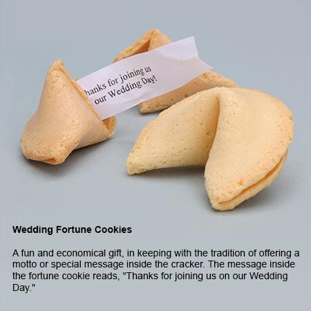 Gold Foil Wedding Crackers